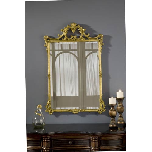 English Gold Leaf Mirror
