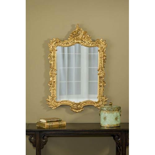Hickory Manor House Ornate English Gold Leaf Mirror Hm7138gl Bellacor