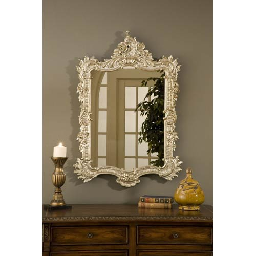 Hickory Manor House Ornate English Shimmer Mirror
