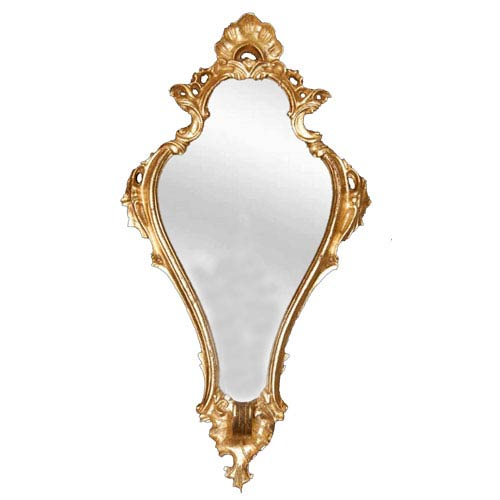 Hickory Manor House Empire Gold Leaf Mirror