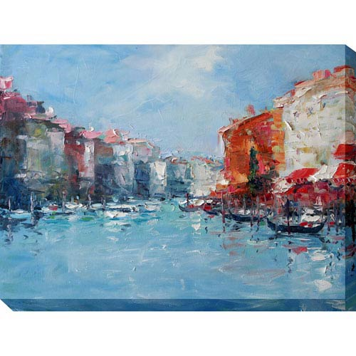 Dreaming Venice: 40 x 1.5 x 30-Inch Giclee Painting