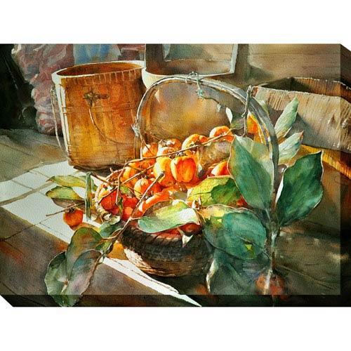 Sun Ripened: 40 x 1.5 x 30-Inch Giclee Painting