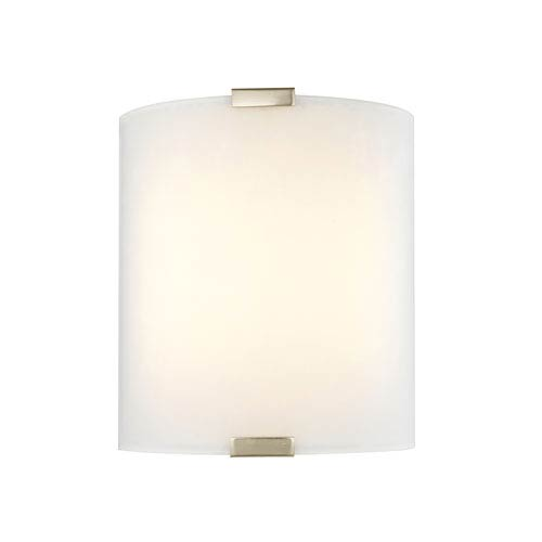 Satin Nickel 9-Inch LED Wall Sconce
