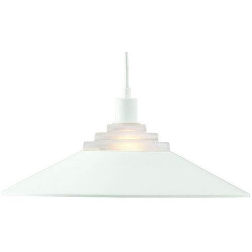 Pinnacle Matte White One-Light Pendant