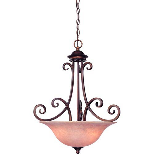Dolan Designs Medici English Bronze Three-Light Pendant