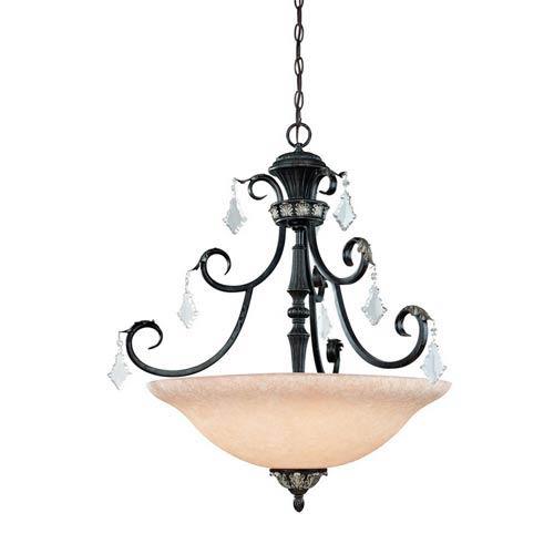 Florence Phoenix Three-Light Pendant