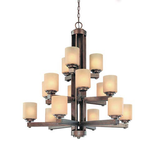 Sherwood Sienna Fifteen-Light Chandelier
