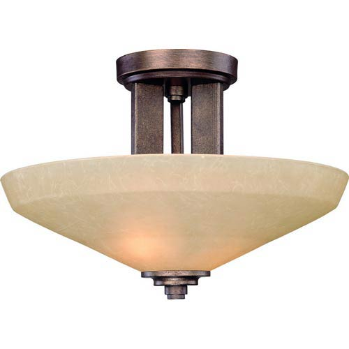 Dolan Designs Sherwood Sienna Two-Light Semi-Flush