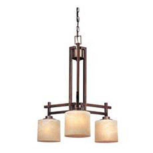 Dolan Designs Roxbury English Bronze Three-Light Chandelier