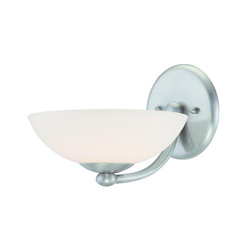 Dolan Designs Rainier Satin Nickel One-Light Wall Sconce