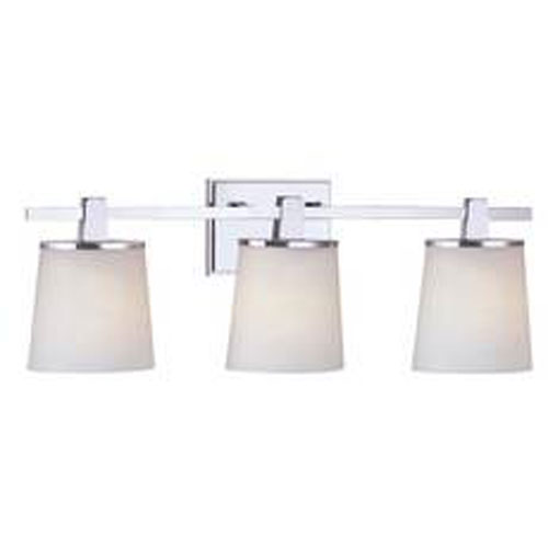 Ellipse Chrome Three Light Bath 3783