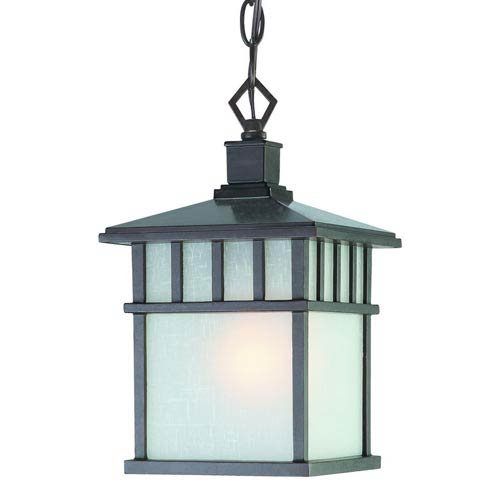 Barton Olde World Iron Small One-Light Outdoor Pendant