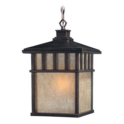 Barton Winchester Large One-Light Outdoor Pendant