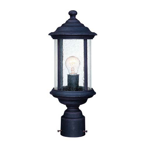 Walnut Grove Rustique One-Light Outdoor Post Light