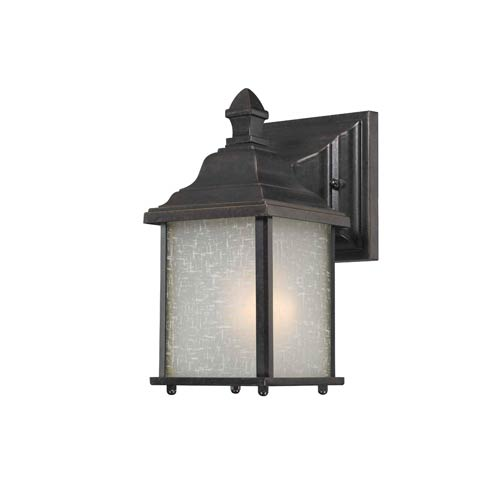 Charleston Winchester 9-Inch One Light Exterior Wall Mount