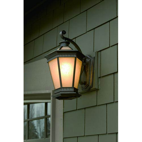 Vintage Winchester Large Energy Star One-Light Outdoor Wall Light