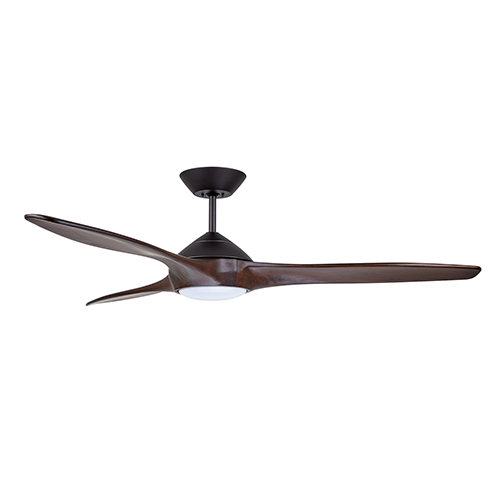 Lindbergh Oil Rubbed Bronze LED 60-Inch Eco Ceiling Fan