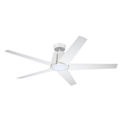 Floret Eco Satin White 60-Inch LED Ceiling Fan