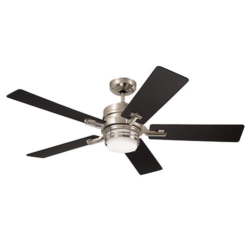 Brushed Steel Amhurst LED Ceiling Fan