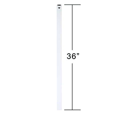 Appliance White 3-Feet Downrod