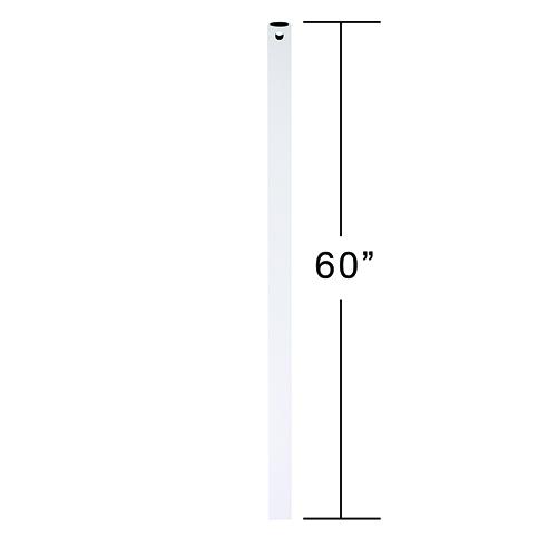 Appliance White 5-Feet Downrod