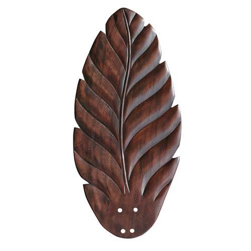 Emerson Fans 22-Inch Dark Cherry Hand Carved Leaf Blades
