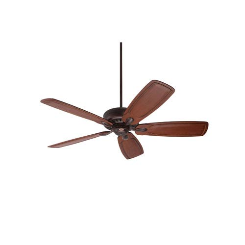 Avant Eco Venetian Bronze Energy Star EcoMotor 54-Inch Ceiling Fan with Dark Oak Classic Hand Carved Blades