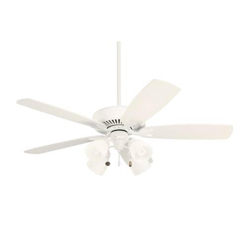Emerson Fans Premium Select Satin White Three Light Ceiling Fan