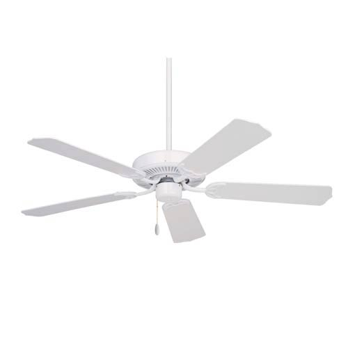 Pro Series Builder Appliance White 52-Inch Energy Star Ceiling Fan