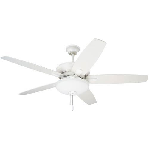 Emerson Fans Pro Series Satin White Three Light Ceiling Fan