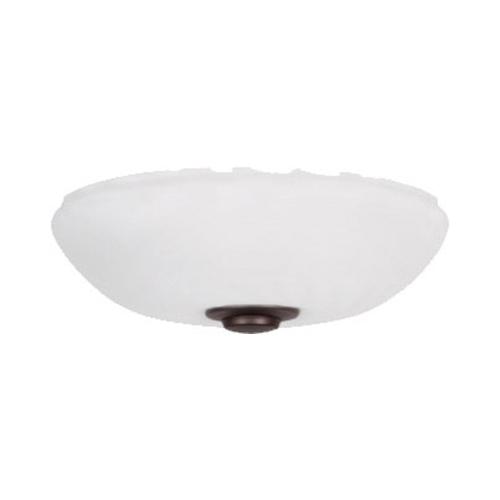 Emerson Fans Harlow Summer White Three Light Ceiling Fan Kit
