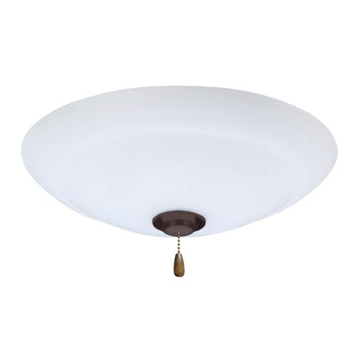 Emerson Fans Riley Oil Rubbed Bronze Fluorescent Three Light Ceiling ...