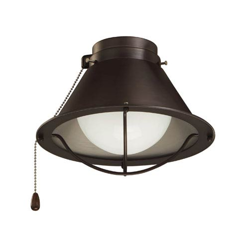 Industrial light kit ceiling fans free shipping bellacor seaside oil rubbed bronze wet location ceiling fan light kit aloadofball Choice Image
