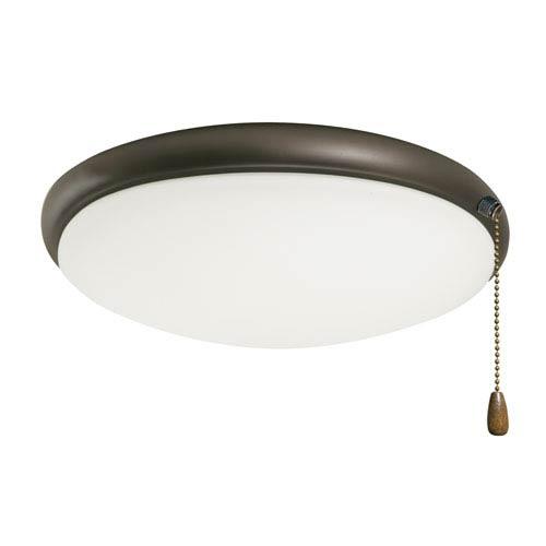 Oil Rubbed Bronze Moon Ceiling Fan Light Fixture