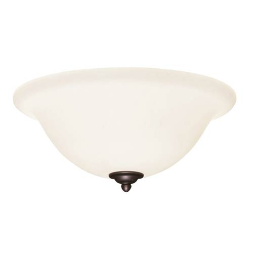 Emerson Fans Antique Pewter Fluorescent Three Light Ceiling Fan Kit with Opal Matte Glass