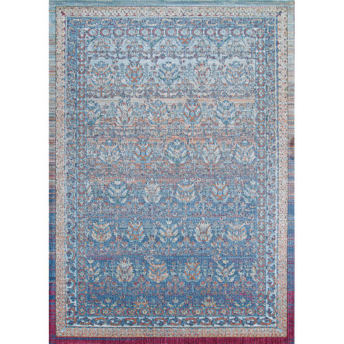 Kaleidoscope Empyrean Nightfall Rectangular: 3 Ft. 11 In. x 5 Ft. 3 In. Rug