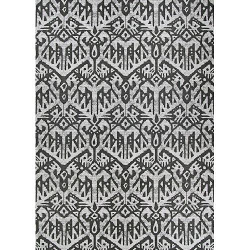 Dolce Maasai Noir Rectangular: 8 Ft. 1 In. x 11 Ft. 2 In. Indoor/Outdoor Rug