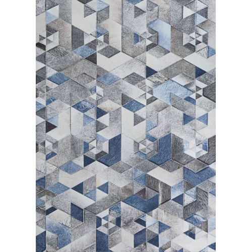 Prairie Falsterbo Denim Rectangular: 7 Ft. 6 In. x 10 Ft. Rug