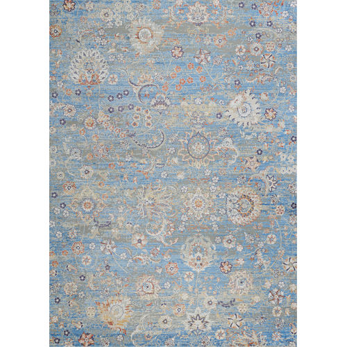 Vibrata Chateau Pacific Blue 3 Ft. 11 In. x 5 Ft. 6 In. Rectangular Area Rug