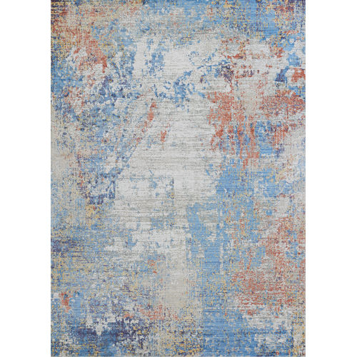 Vibrata Divergence Multicolor 3 Ft. 11 In. x 5 Ft. 6 In. Rectangular Area Rug