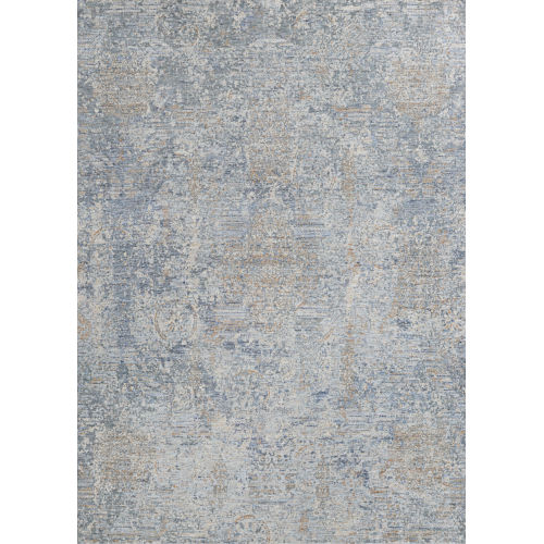 Couture Bordado Light Gray 3 Ft. 9 In. x 5 Ft. 5 In. Rectangular Area Rug