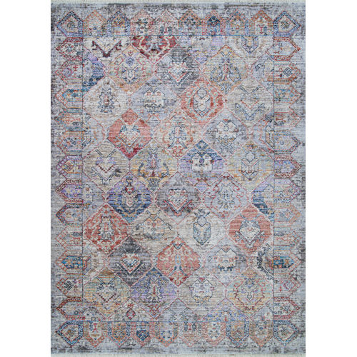 Bliss Parthia Greystone Rectangular: 2 Ft. 6 In. x 7 Ft. 10 In. Runner