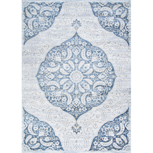 Nirvana Wellington Antique Lace Rectangular: 5 Ft. 3 In. x 7 Ft. 6 In. Rug