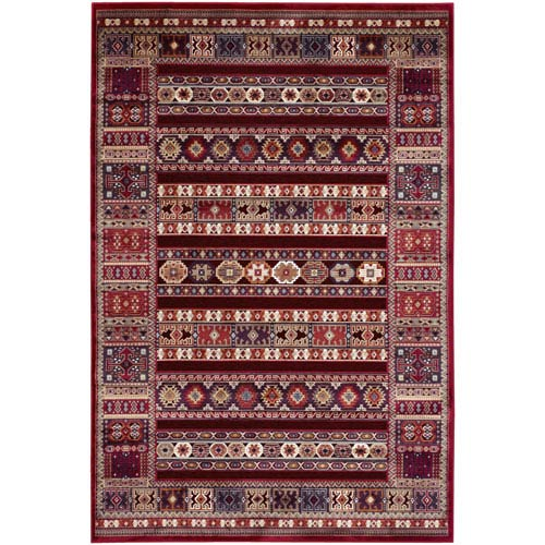 Cire Jerrico Ruby Rectangular: 5 Ft. 3 In. x 7 Ft. 6 In. Rug