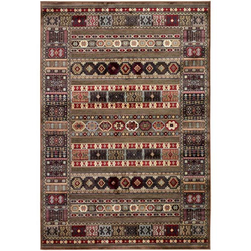 Couristan Cire Jerrico Quartz Rectangular: 5 Ft. 3 In. x 7 Ft. 6 In. Rug