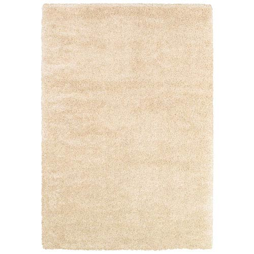 Couristan Bromley Snow Rectangular: 5 Ft. 3 In. x 7 Ft. 6 In. Rug