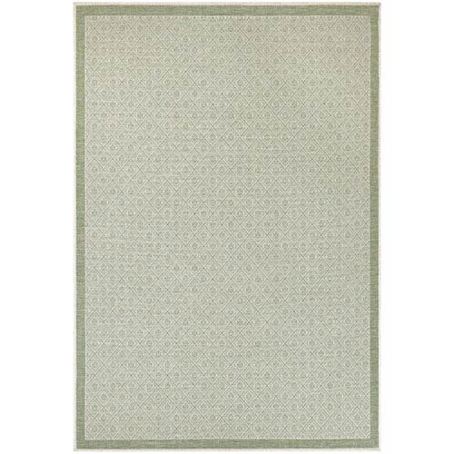 Monaco Sea Pier Sand and Sea Mist Rectangular: 7 Ft 6 In x 10 Ft 9 In Rug