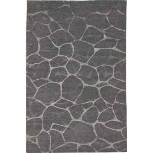 Couristan Impressions Flagstone Grey Silver 8 Ft. X 10 Ft. Rectangular Rug