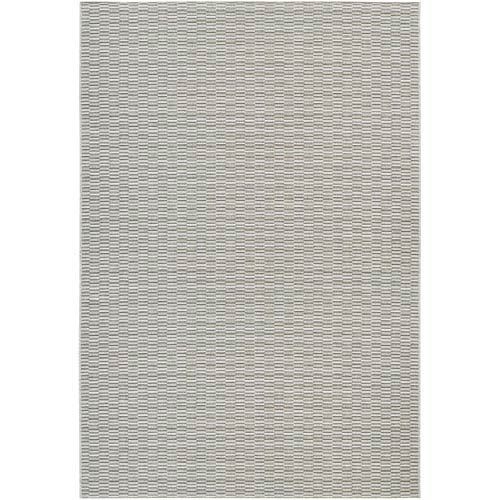 Cape Barnstable Light Blue and Silver Rectangular: 6 Ft 6 In x 9 Ft 6 In Rug