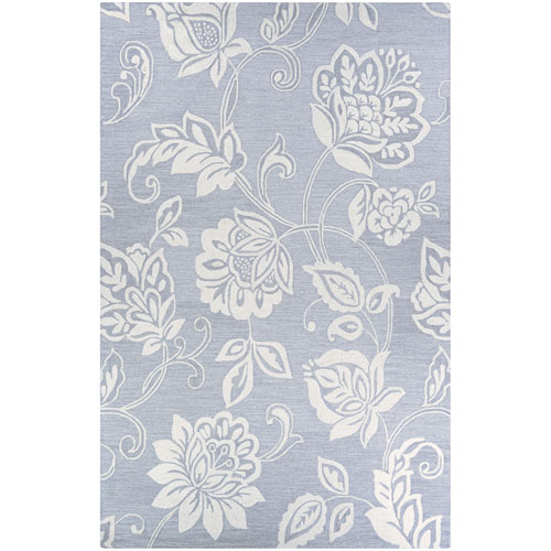 Couristan Crawford Azalea Grey and Ivory Rectangular: 2 Ft. x 3 Ft. Rug